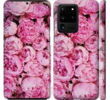 Чехол Пионы v3 для Samsung Galaxy S20 Ultra