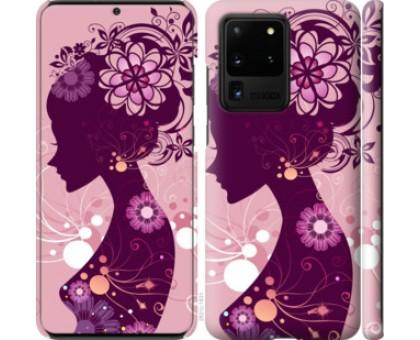Чехол Силуэт девушки для Samsung Galaxy S20 Ultra