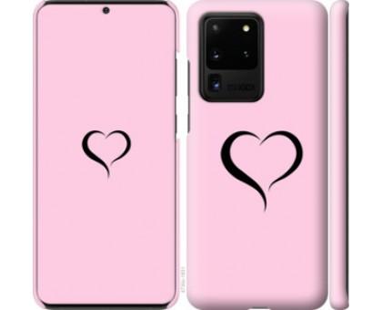 Чехол Сердце 1 для Samsung Galaxy S20 Ultra