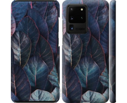Чехол Листья v3 для Samsung Galaxy S20 Ultra