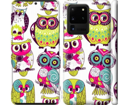 Чехол Совы для Samsung Galaxy S20 Ultra