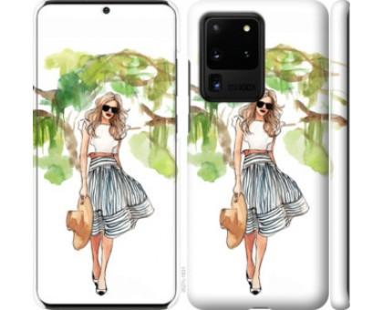Чехол Девушка арт 2 для Samsung Galaxy S20 Ultra