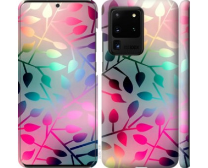 Чехол Листья для Samsung Galaxy S20 Ultra