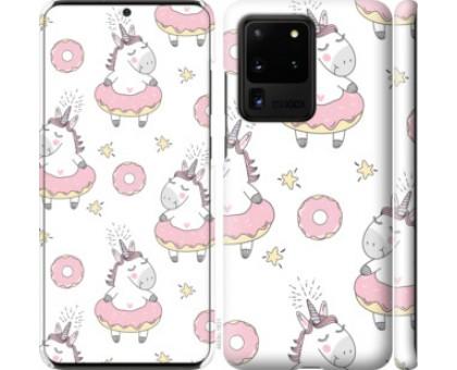 Чехол Единорожки для Samsung Galaxy S20 Ultra