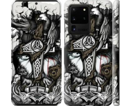 Чехол Тату Викинг для Samsung Galaxy S20 Ultra
