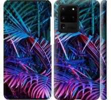 Чехол Папоротник под ультрафиолетом для Samsung Galaxy S20 Ultra