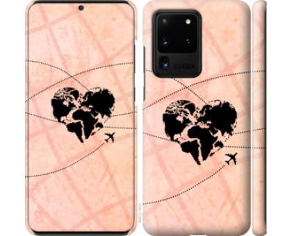 Чехол Путешествуй для Samsung Galaxy S20 Ultra