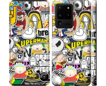 Чехол Popular logos для Samsung Galaxy S20 Ultra