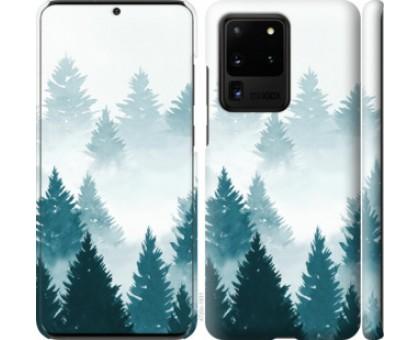 Чехол Акварельные Елки для Samsung Galaxy S20 Ultra