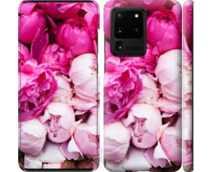 Чехол Розовые пионы для Samsung Galaxy S20 Ultra