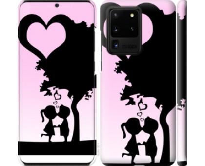 Чехол Искренняя любовь для Samsung Galaxy S20 Ultra
