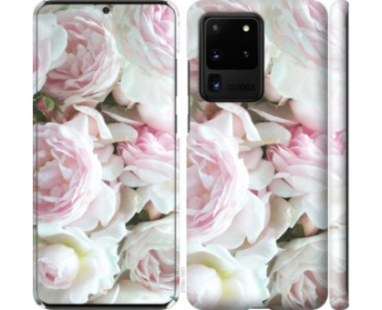 Чехол Пионы v2 для Samsung Galaxy S20 Ultra