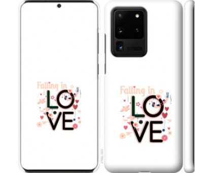 Чехол falling in love для Samsung Galaxy S20 Ultra