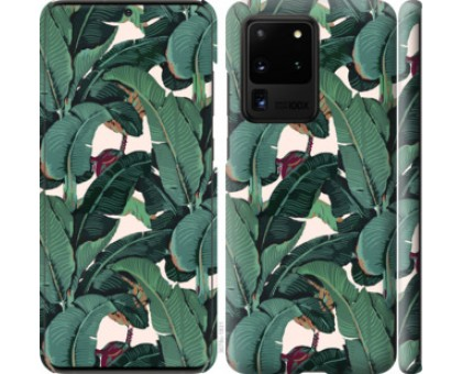 Чехол Банановые листья для Samsung Galaxy S20 Ultra