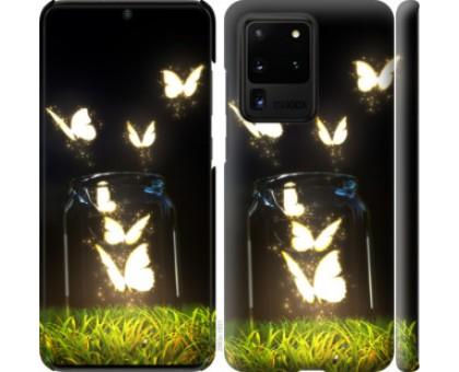Чехол Бабочки для Samsung Galaxy S20 Ultra
