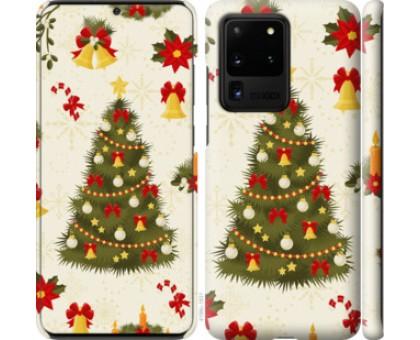 Чехол Новогодняя елка для Samsung Galaxy S20 Ultra