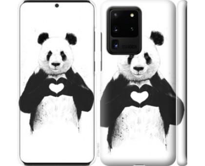 Чехол All you need is love для Samsung Galaxy S20 Ultra