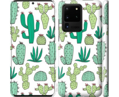 Чехол кактусы 2 для Samsung Galaxy S20 Ultra