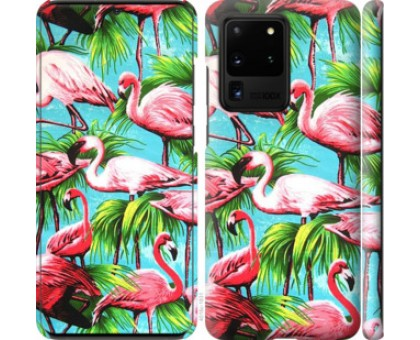 Чехол Tropical background для Samsung Galaxy S20 Ultra