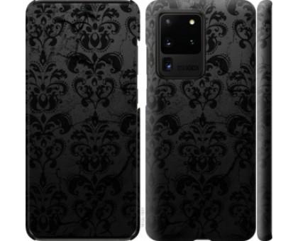 Чехол узор черный для Samsung Galaxy S20 Ultra