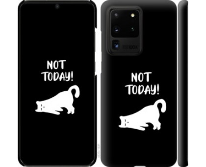 Чехол Уставший кот для Samsung Galaxy S20 Ultra