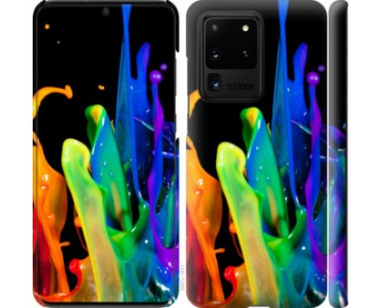 Чехол брызги краски для Samsung Galaxy S20 Ultra
