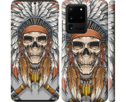 Чехол Череп индейца для Samsung Galaxy S20 Ultra