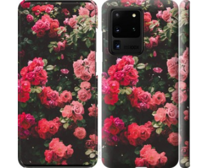 Чехол Куст с розами для Samsung Galaxy S20 Ultra