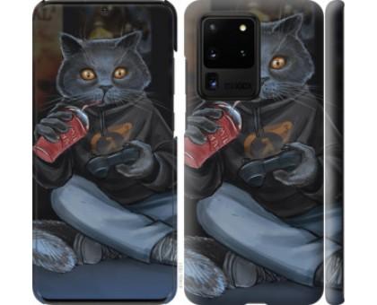 Чехол gamer cat для Samsung Galaxy S20 Ultra