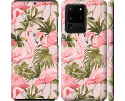 Чехол фламинго 2 для Samsung Galaxy S20 Ultra