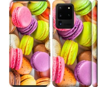 Чехол Макаруны для Samsung Galaxy S20 Ultra