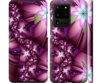 Чехол Цветочная мозаика для Samsung Galaxy S20 Ultra