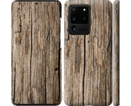 Чехол Текстура дерева для Samsung Galaxy S20 Ultra