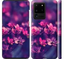 Чехол Пурпурные цветы для Samsung Galaxy S20 Ultra