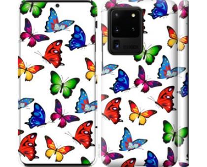 Чехол Красочные мотыльки для Samsung Galaxy S20 Ultra