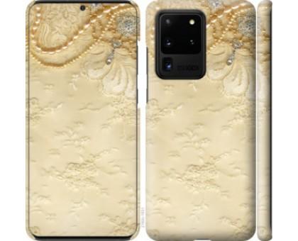 Чехол Кружевной орнамент для Samsung Galaxy S20 Ultra