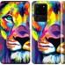 Чехол Разноцветный лев для Samsung Galaxy S20 Ultra