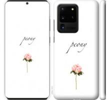 Чехол Пион для Samsung Galaxy S20 Ultra