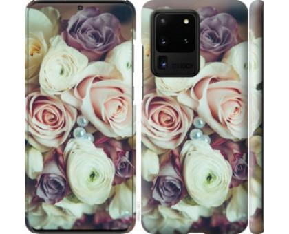 Чехол Букет роз для Samsung Galaxy S20 Ultra